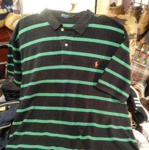 Polo Ralph Lauren Striped Shirt 4XB Big Tall